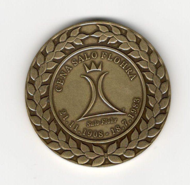 Pamětní medaile - Cena Salo Flohra